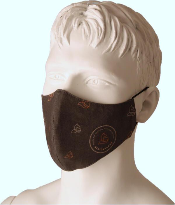 Regionalfux Mund-Nasen Schutz
